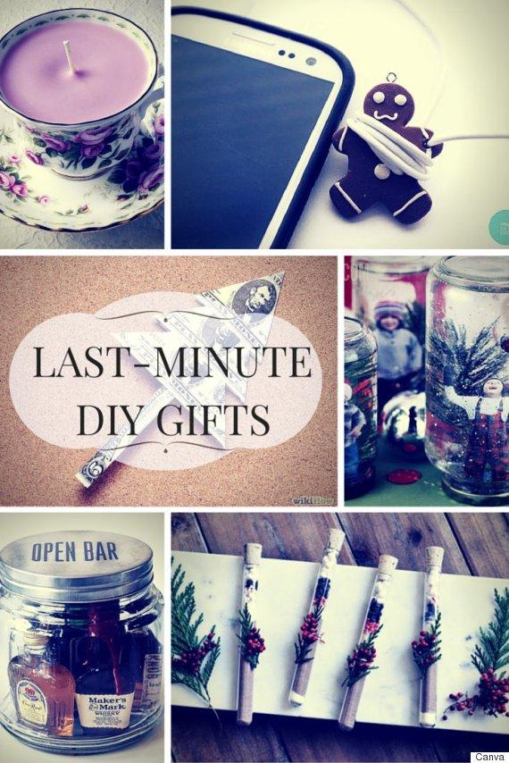last minute diy gifts