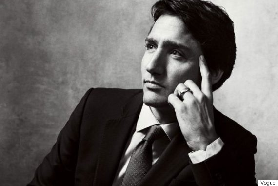 trudeau vogue