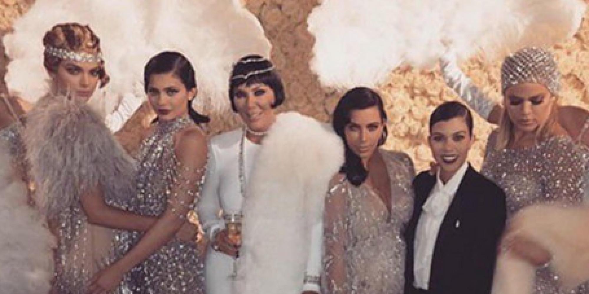 Kardashian Family 2013 Christmas Card - The Kardashians\' 2013 ...