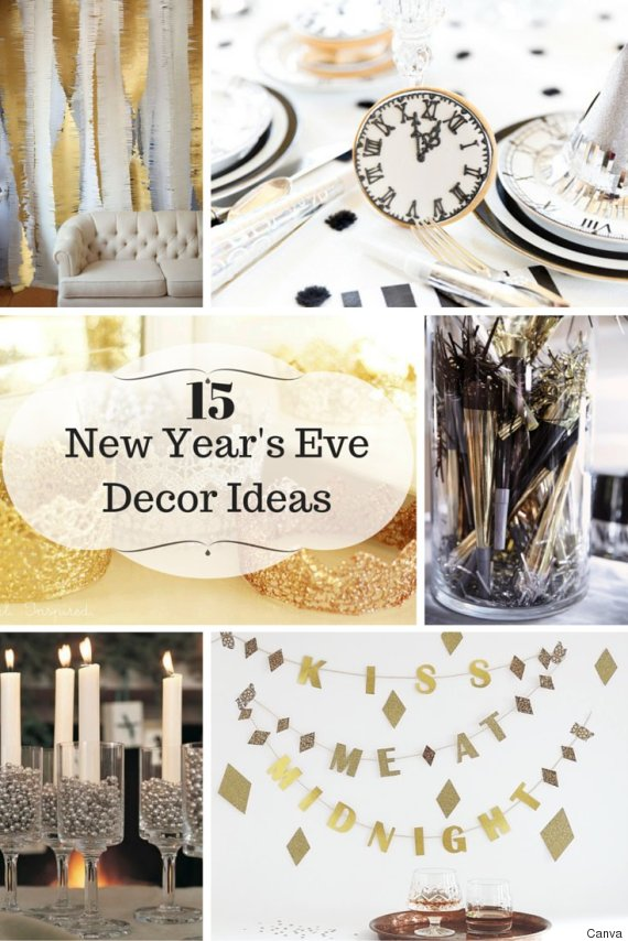 15 New Year's Decor Ideas