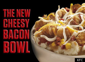 Kfc Cheesy Bacon Bowl