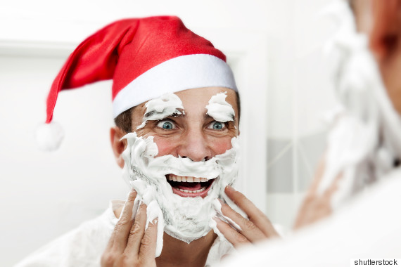 Christmas Facial.United Kingdom