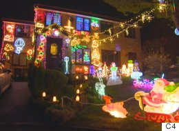 Bonkers Amount Of Baubles In 'My Crazy Christmas Lights'