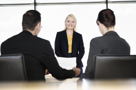 sitting interview