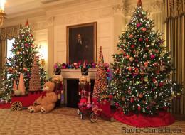 Découvrez l'intérieur de la Maison-Blanche à Noël (PHOTOS)