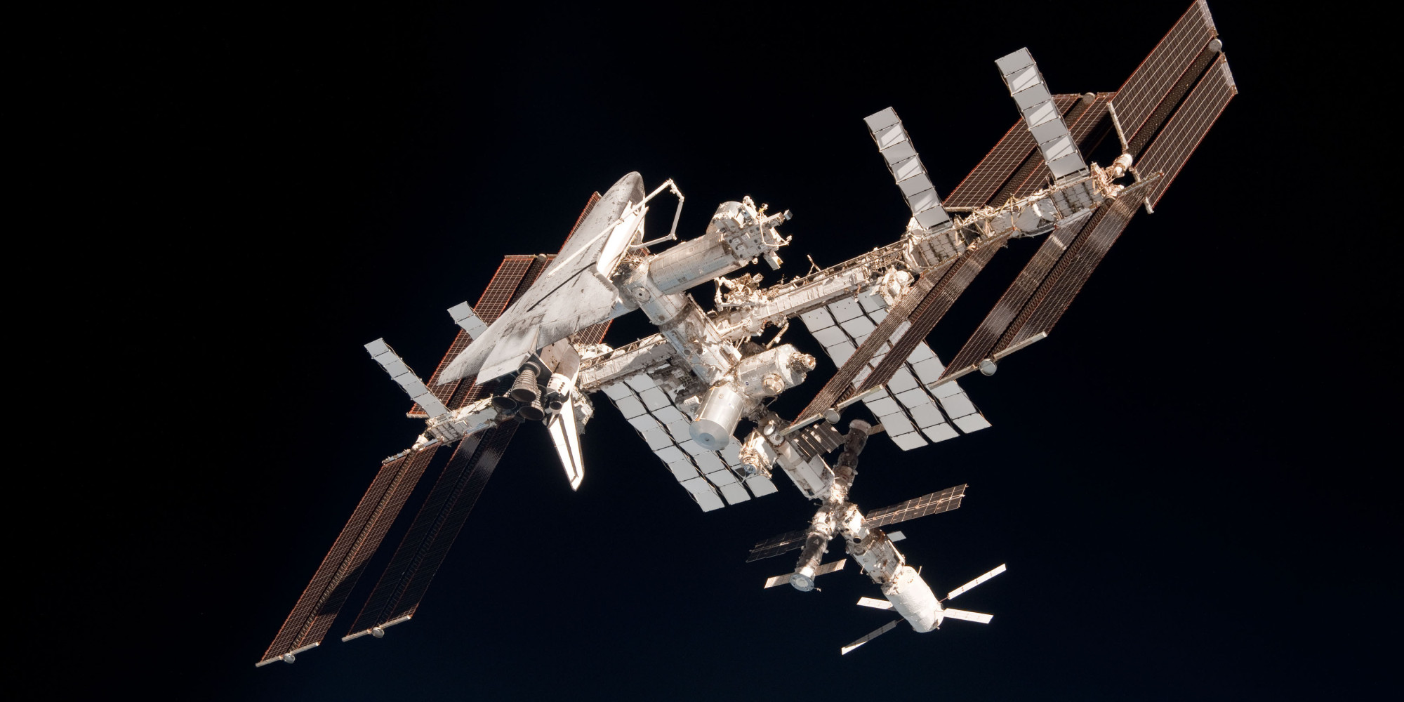 space shuttle to iss - photo #4