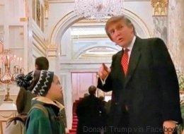 Eh oui, cet homme dans «Maman, j'ai encore raté l'avion» est Donald Trump