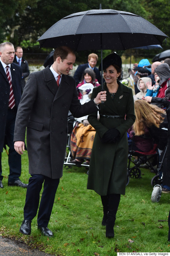 Kate Middleton, Prince William And The Royal Family Attend ...