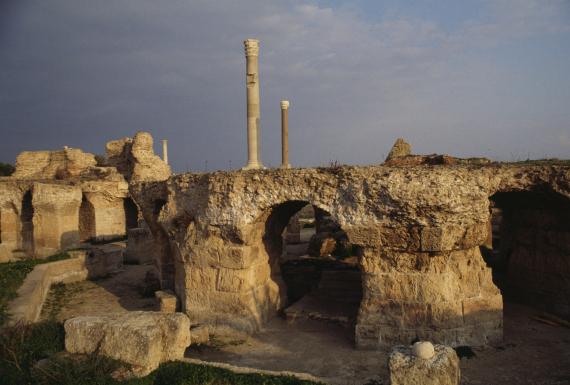 مدينة قرطاج التونسية هي من المدن العربية التى اندثرت وأصبحت أثراً