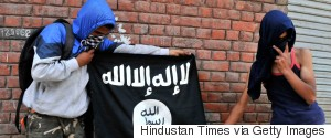 ISIS FLAGS KASHMIR