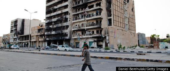 Gaddafi Killed Libya