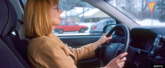 WOMEN CAR ACCIDENT