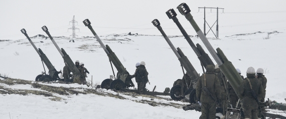 RUSSIAN TROOPS IN THE ARCTIC