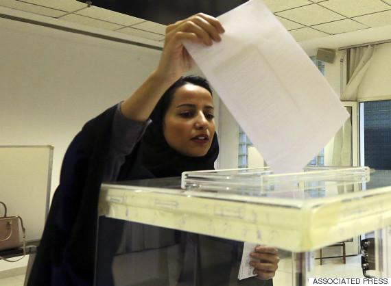 saudia arabia elections women