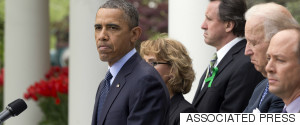 OBAMA FROWN