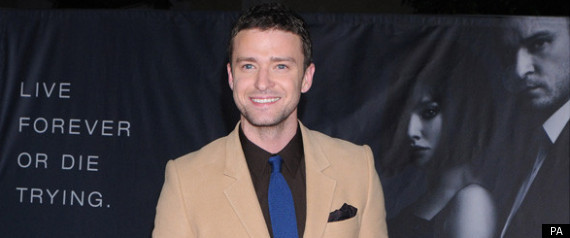 JUSTIN TIMBERLAKE AT THE LA PREMIERE OF IN TIME