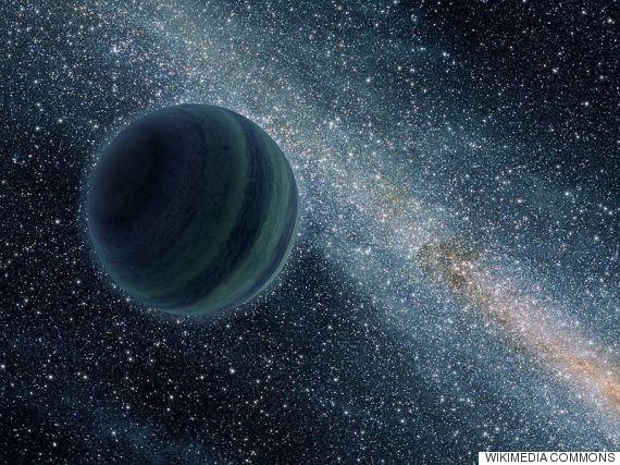 planeta sin estrella