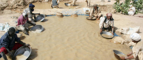 THE SEARCH FOR GOLD IN SUDAN