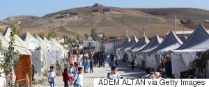 TURKEY REFUGEE CAMP