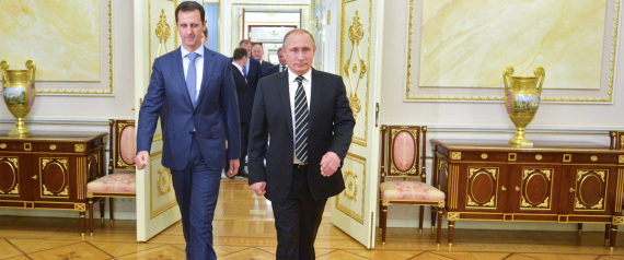 PUTIN AND BASHAR
