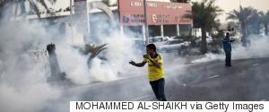 BAHRAIN TEAR GAS