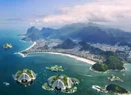 Une écocité futuriste imaginée dans la baie de Rio