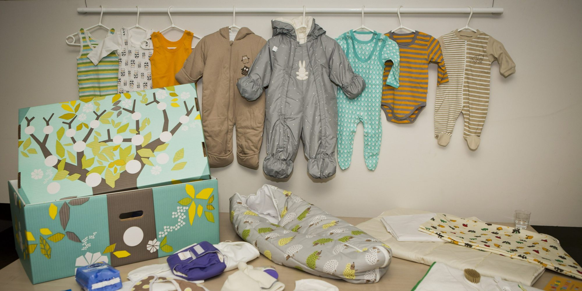 Image result for finland babies box