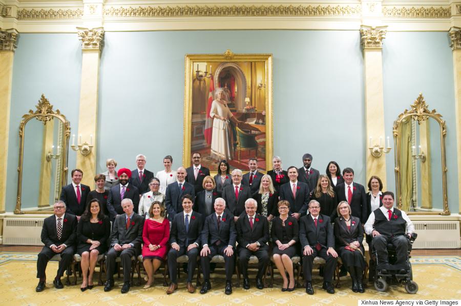 trudeau cabinet