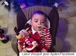 France : Les internautes se mobilisent pour aider le petit Ayden, 18 mois