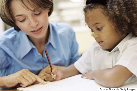 children teach