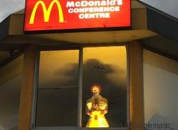 Quand Ronald McDonald fait peur (PHOTOS)