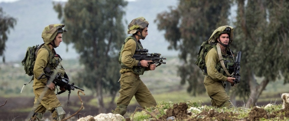 IDF FORCES IN THE GOLAN