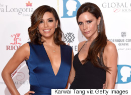 Victoria Beckham Reportedly Designing BFF Eva Longoria's Wedding Dress