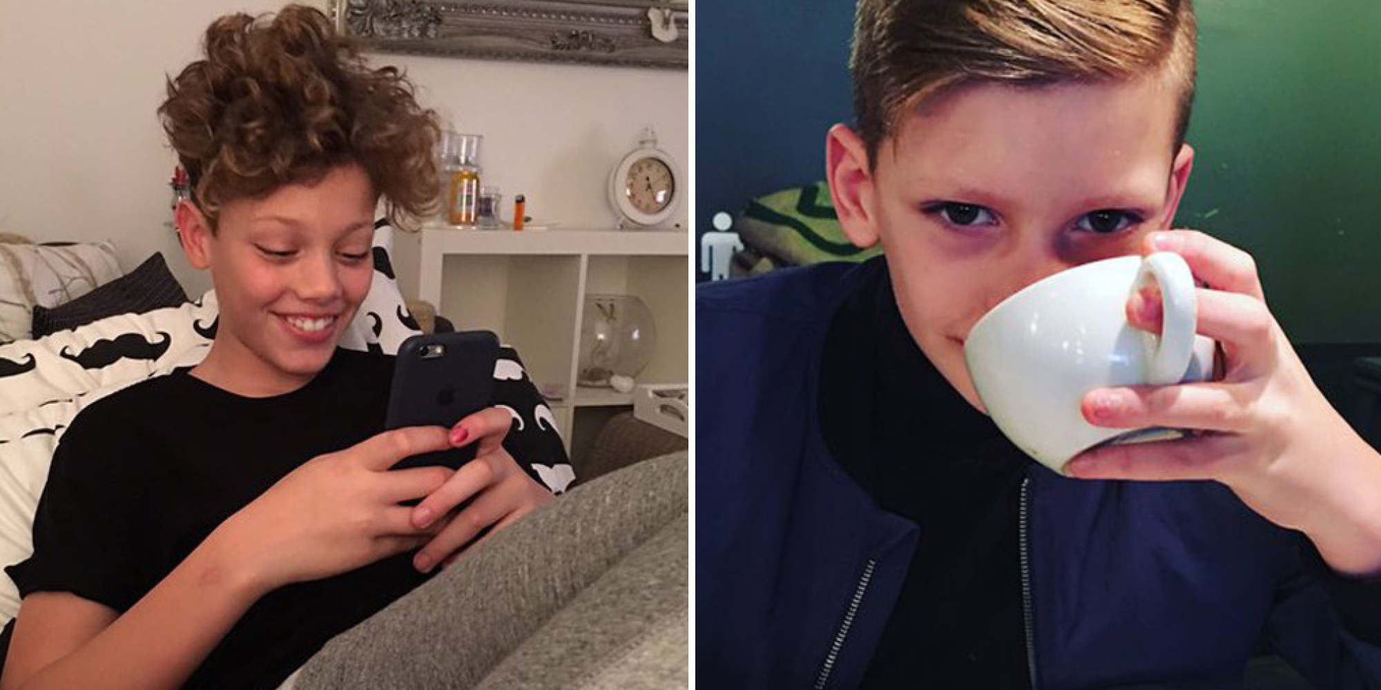 jeff brazier shares rare photos of his sons bobby and