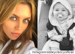 Abbey Clancy Shares The Cutest Photo Of Baby Daughter