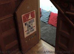 Une moldue recrée le «placard sous l'escalier» d'Harry Potter (PHOTOS)