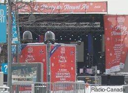 Nouvel an: 70 000 personnes attendues dans le Vieux-Montréal