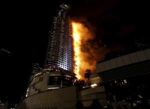 Incendie Hotel Dubai