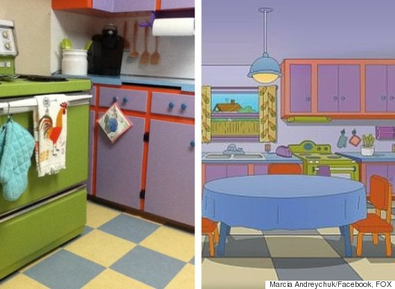 the simpsons kitchen