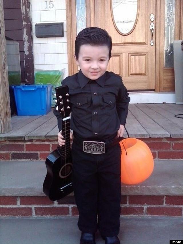 little johnny cash best kidu0027s halloween costume ever photo