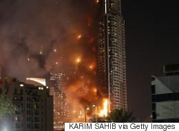 Dubaï: un photographe se suspend dans le vide pour échapper à l'incendie