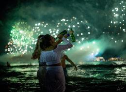 Así ha recibido el mundo el 2016 (FOTOS)