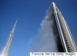 Dubaï enquête sur le spectaculaire incendie d'un hôtel de luxe (VIDÉOS/PHOTOS)