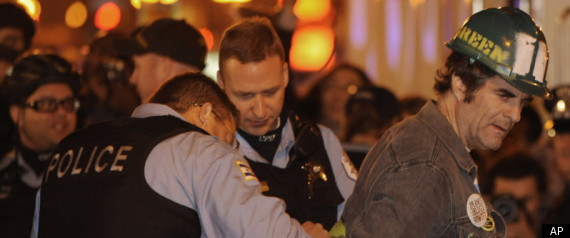 OCCUPY CHICAGO ARRESTS