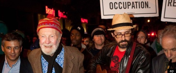 PETE SEEGER OCCUPY WALL STREET