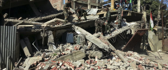 INDIA EARTHQUAKE