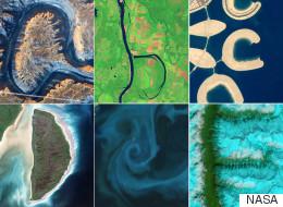 El alfabeto sobre la Tierra: las imágenes de los satélites de la NASA