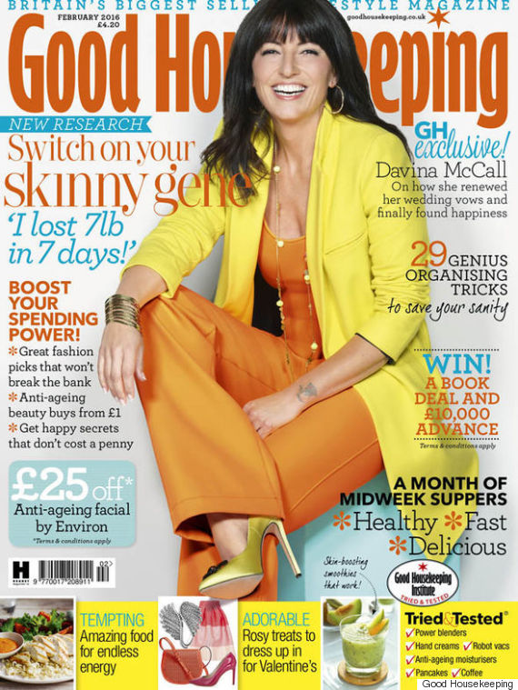 davina mccall good housekeeping