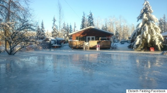 ice jam bulkley river