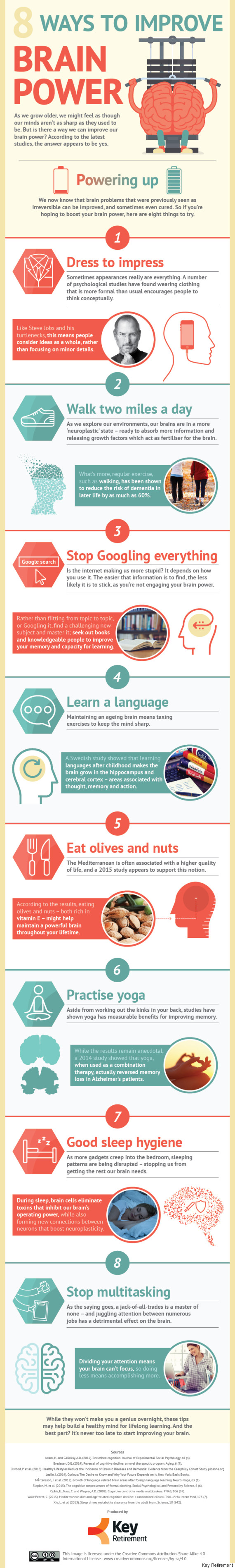 8 ways to improve brain